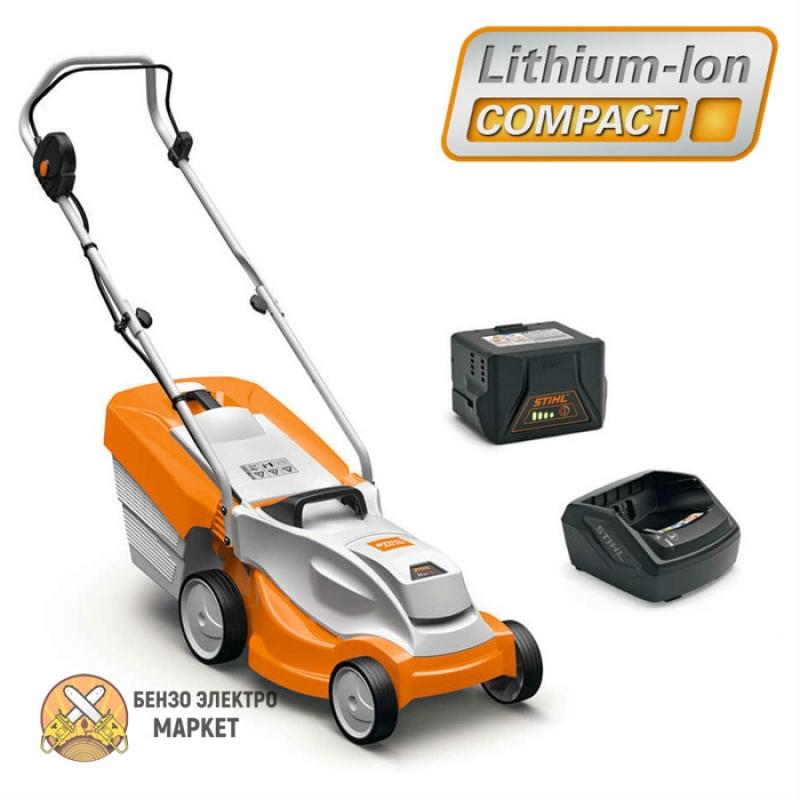 Аккумуляторная газонокосилка STIHL RMA 235.0