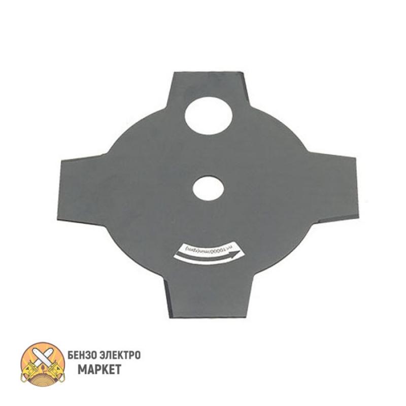Нож металлический ECHO 4-зубчатый 230 мм