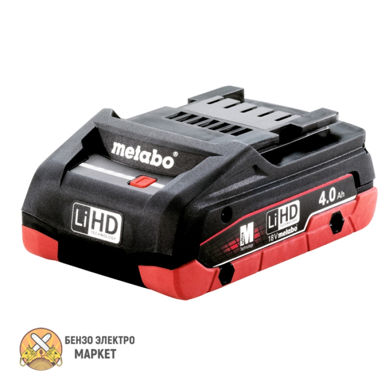 Аккумулятор METABO LIHD, 18 В, 4,0 АЧ