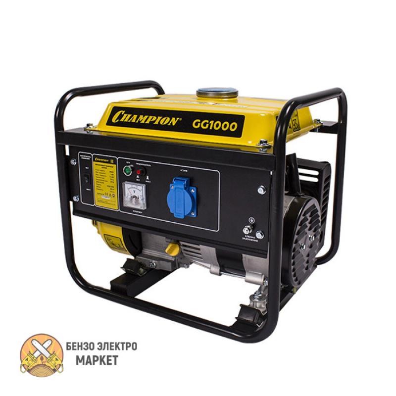 Генератор бензиновый CHAMPION GG1000