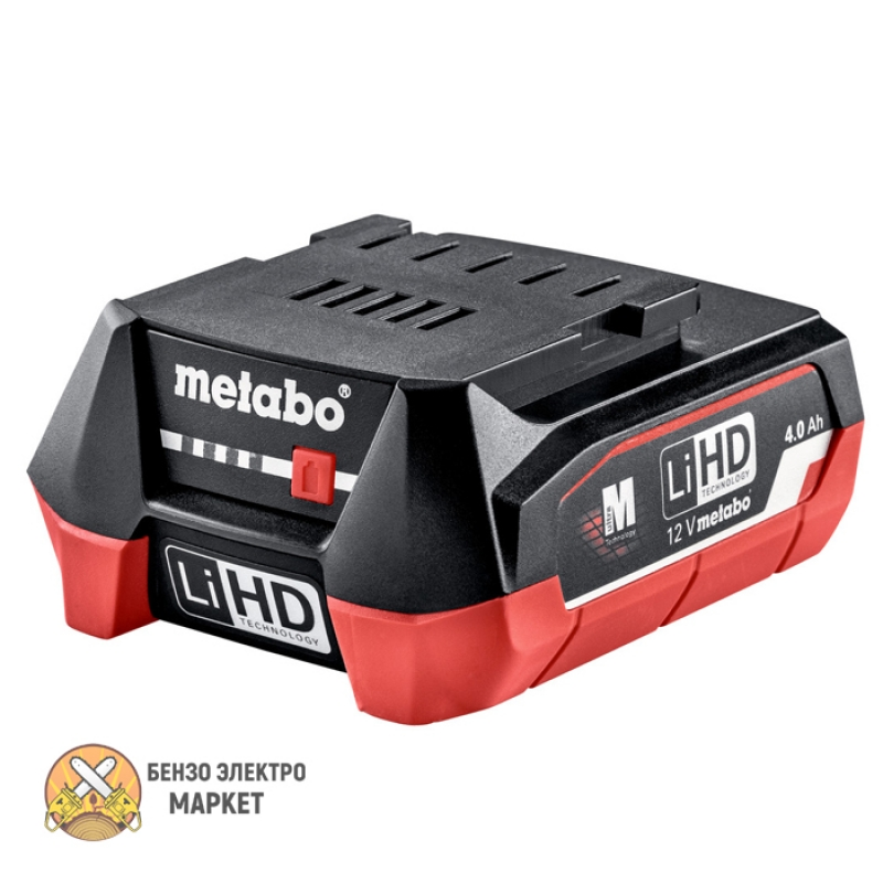 Аккумулятор METABO 12,0 В, 4,0 AЧ, LIHD