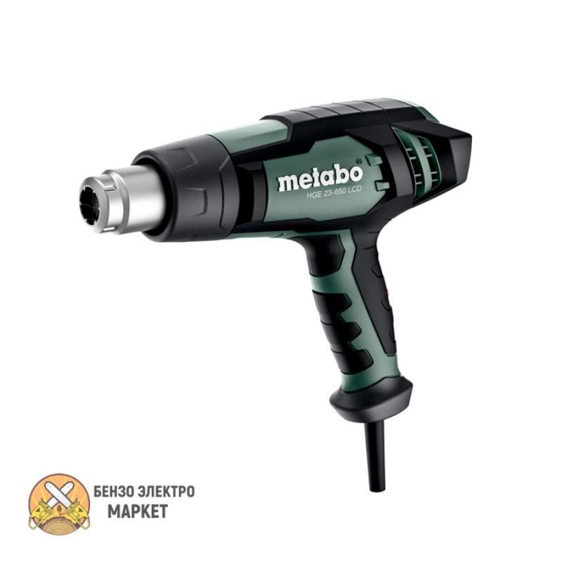 Фен технический METABO HGE 23-650 LCD