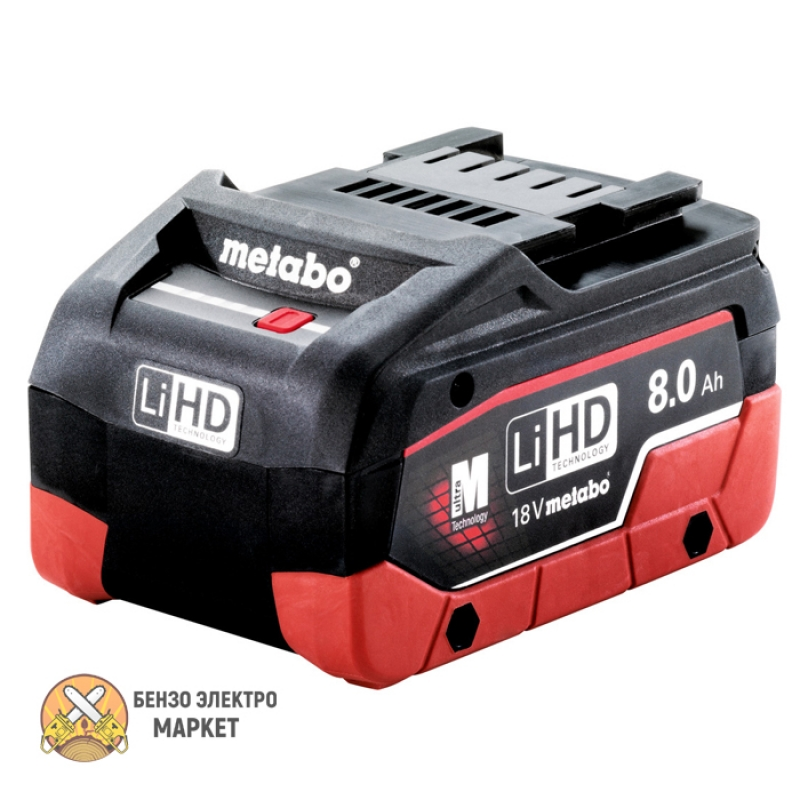 Аккумулятор METABO LIHD, 18 В, 8,0 АЧ