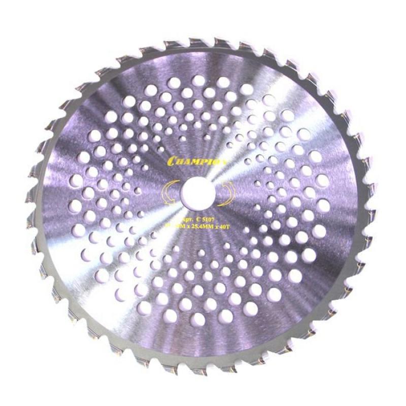 Нож CHAMPION с зубцами из твердого сплава 40/255/25,4