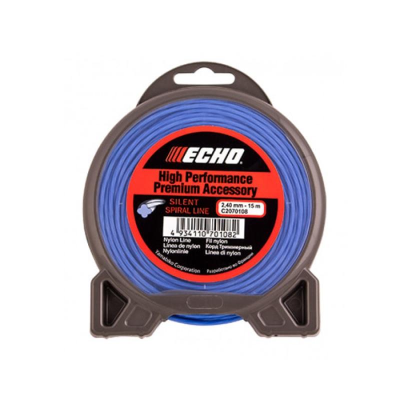Корд триммерный ECHO Silent Spiral Line 2,4мм*15м (витой)